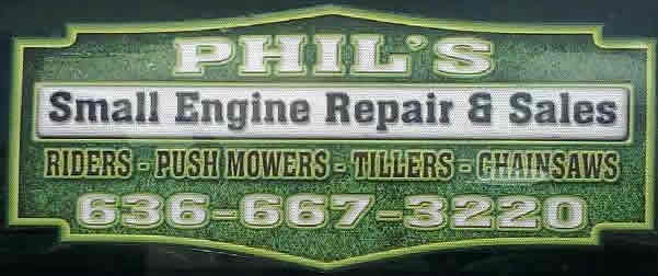 Phil's Small Engine Repair - Hew Haven MO